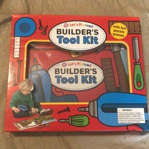 Let's pretend builder's tool kit puzzle